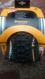 Continental trail king mtb tyres 27.5 BRAND NEW (RRP £45)