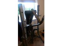 York Diamond Narrow Stance Weight Bench