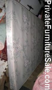 """Low profile 5"""" Queen Boxspring, hard to find, good condition"""