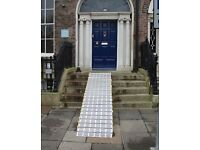 """4ft-13ft Rollaramp , Wheelchair Access Loading Ramp, 30"""" Wide Roll-a-Ramp - Used (PRICE PER FOOT)"""