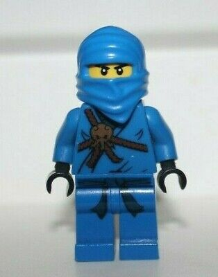 Lego Ninjago Jay Golden Weapons Blue Ninja Minifigure Njo004 2263 2257 2506 2259