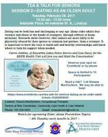 Tea & Talk for Seniors:  Dating as an Older Adult
