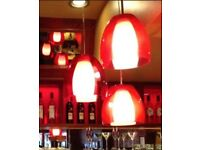 Restaurants high quality extra large lamps