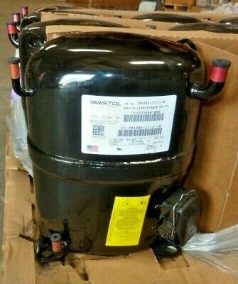 New Bristol L63b752bbcb 208-230v 1 Phase Lra55 Low Temperature Compressor Sealed