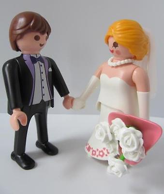 Playmobil Bride & Groom New figures for modern wedding/dollshouse sets