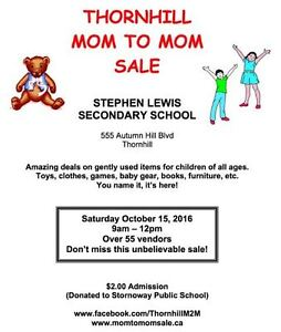 Thornhill Mom to Mom Sale