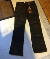 Brand New Ladies Stretch Dark Kaki Pants size:12