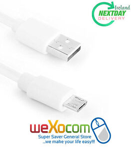 2-Meter-WHITE-Cable-for-Samsung-Galaxy-S6-Edge-S6-S4-S3-Note-2-Note-1-Sony