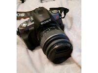 Sony Alpha 380 DSLR camera