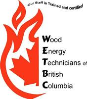 Wood and Pellet Stove Wett Inspections and Installations