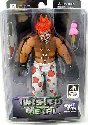 Twisted Metal video game Sweet Tooth 6in Action Figure