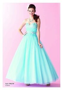 Light Blue Prom Dress by Alfred Angelo