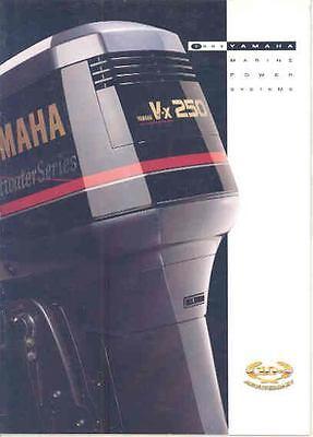 1994 Yamaha Outboard Marine Engine Boat Motor Brochure mx4838-AFJO44