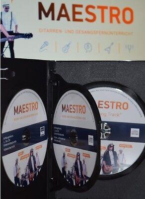 Gitarre für Anfänger - Gitarrenunterricht für Anfänger 1 x DVD + 2