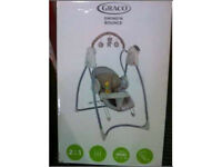 Graco 2-in-1 Swing n Bounce Swing - Benny and Bell