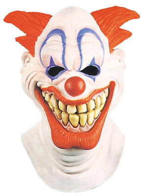 HALLOWEEN ADULT CLOWN BOZO LOOK JUGGALO ICP MASK PROP  - Juggalo Halloween