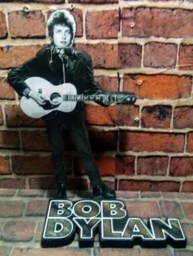"BOB DYLAN DISPLAY 8"" STANDEE Figure Statue Cutout Standup music cd lp dvd book"
