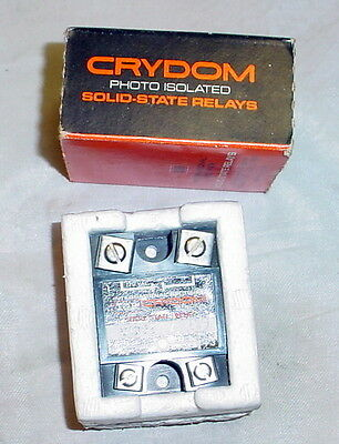 Crydom D1225 Solid State Relay Photoisolated 3-32v Input 120v 25 Amp Output