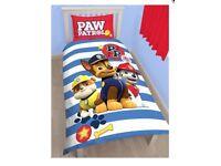 Brand New Paw Patrol Single Duvet Set