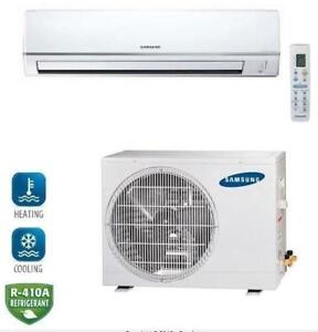 Samsung AQV09NSD Neo Forte Wall Mounted Mini Split Heat Pump 20 SEER,  9,000 BTU, 230Volt
