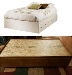 Two- Twin Bed, With Drawers Underneath