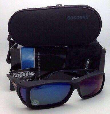 Polarized COCOONS Sunglasses C422M Medium-Large Fits Over Rx Eyeglasses Black