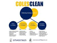 25% Off selected COLESCLEAN Residential & Commercial Cleaning Services