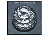 Swarovski crystal ball paper weight