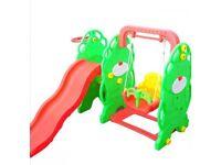Children's swing and slide set BNIB