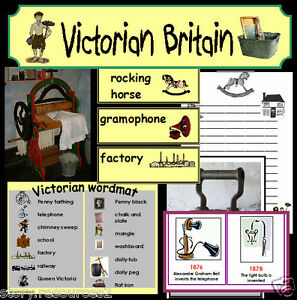 VICTORIAN-Primary-teaching-resources-TOYS-HOMES-WORK-History-Resource ...