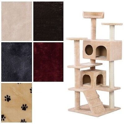 New Cat Tree Tower Condo Furniture Scratch Post Kitty Pet Scratching House Play