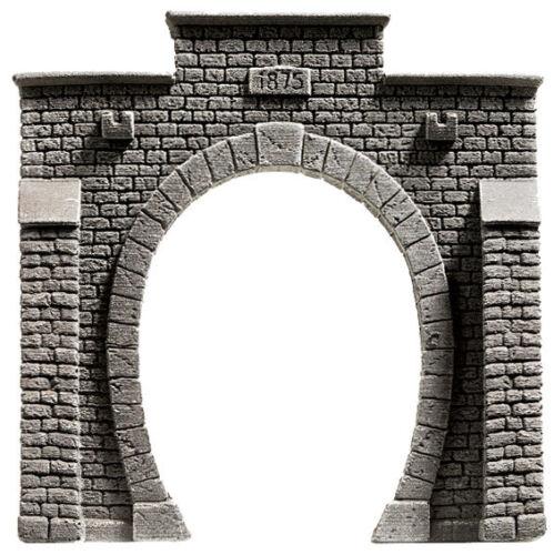 Noch 48051 Tt Gauge, Tunnel Portal, 1-gleisig, 3 7/8x3 7/8in New IN Boxed