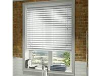 White wood blind New only £20
