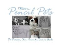 Pet portraits hand drawn from your photographs