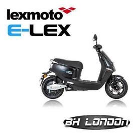 Lexmoto E Lex - Learner legal - Electric bike - Zero emission -1 year warranty