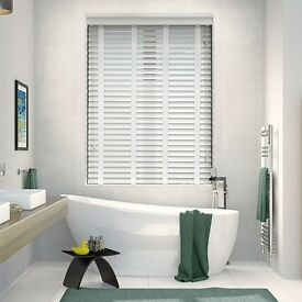 Sunwood 50mm wooden blinds with tapes