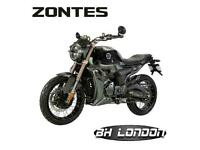 Zontes ZT125 G1 - 2 year warranty - Learner legal
