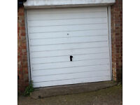 Good dry lock up garage with secure up and over door