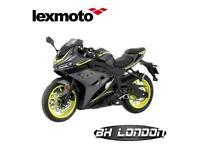 Lexmoto LXS 125cc - 2 year warranty - Learner legal motorcycle