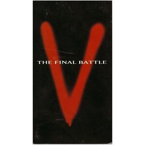 V-The Final Battle-3 vhs tape box set-80s T.V. Series + bonus