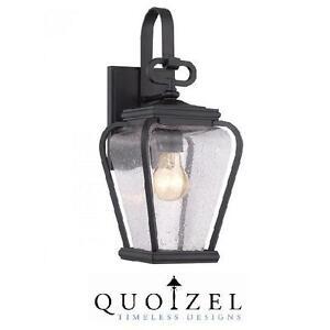NEW QUOIZEL OUTDOOR LANTERN PROVINCE MYSTIC BLACK - OUTDOORS LIGHTS LANTERNS LIGHTING LIGHT FIXTURE PORCH 108113272