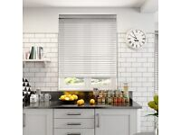 White Venetian Blinds by Blinds 2 Go - Incorrectly Ordered Size!