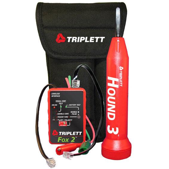 Triplett 3399 Fox & Hound Premium Tone And Probe Kit