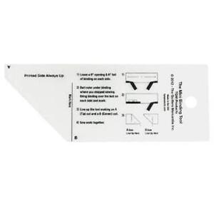 THE MINI BINDING TOOL RULER FROM TQM FOR 2