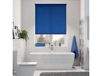 Brand New Blue Roller Blind, High Quality