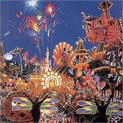 "Hiro Yamagata       ""Main Street Electrical Parade""       Serigraph on Paper  BA"