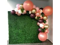 Flower Wall Party Hire Backdrops