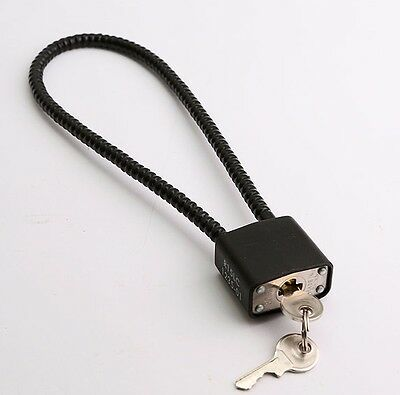WIRE CABLE TRIGGER MECHANISM padlock LOCK is cord chain security for gun (Gun Trigger Mechanism)
