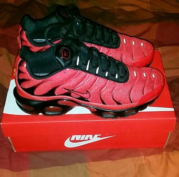 a57eff26aa Mens Size 8 Nike Air Max Tn Trainers really smart Red colour. | in ...