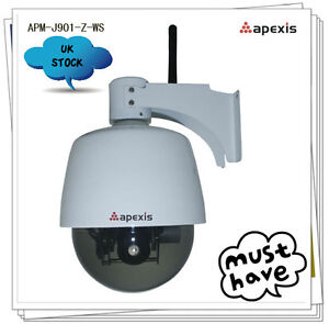 Apexis-J901-Wifi-Weatherproof-IP-camera-PTZ-3xOptical-Zoom-UK-Authorised-Seller